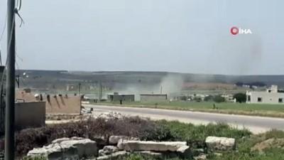 hava harekati -  - Tel Rıfat kırsalında Türk Birliği'ne saldırıda 3 Türk, 1 OSÖ askeri yaralandı - TSK, Tel-Rıfat bölgesindeki PYD noktalarını ateş altına aldı