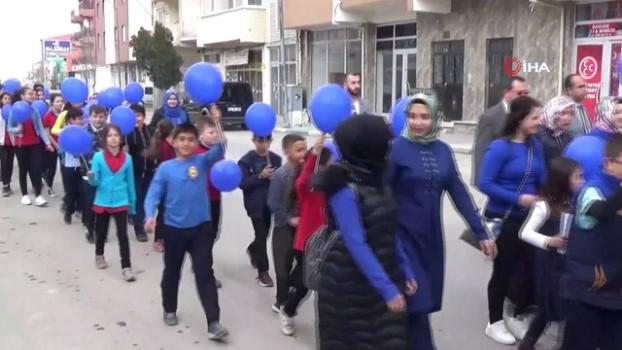birlesmis milletler -  Altıntaş ilçesinde, Dünya Otizm Farkındalık Günü etkinliği