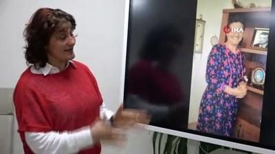 Moral yükseltmek için dikilen 'Mor çiçekli elbise' ile kanseri yendiler