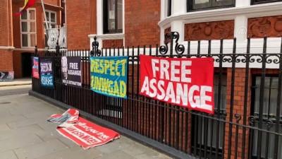 Assange'ın 'Ekvador Büyükelçiliğinden çıkarılacağı' iddiası - LONDRA