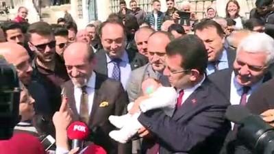 Ekrem İmamoğlu, Fatih'te vatandaşlarla buluştu - İSTANBUL