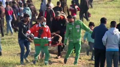 İsrail askerleri Gazze sınırında 83 Filistinliyi yaraladı