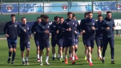 Kasımpaşa, BB Erzurumspor maçı hazırlıklarını sürdürdü