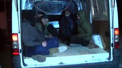 Tekirdağ'da 160 düzensiz göçmen yakalandı