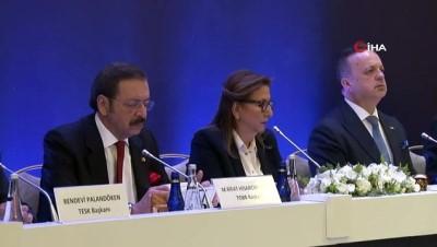 """TOBB Başkanı Hisarcıklıoğlu: """"Seçimsiz geçecek dönemi, kesintisiz bir icraat dönemine çevirmeliyiz"""""""