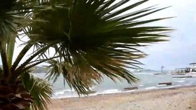 istankoy - Bodrum'da sağanak ve fırtınamsı rüzgar - MUĞLA