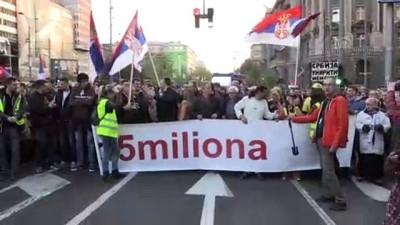hukumet karsiti - Sırbistan'da hükümet karşıtı protestolar sürüyor - BELGRAD