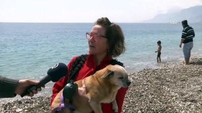 Antalya'da nisanda deniz keyfi