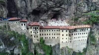 Sümela Manastırı açılış için gün sayıyor - TRABZON