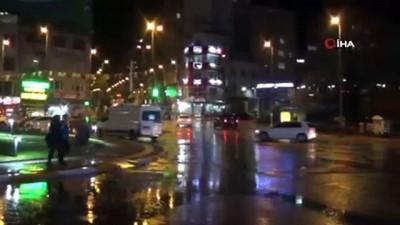Bandırma'ya beklenen yağış geldi