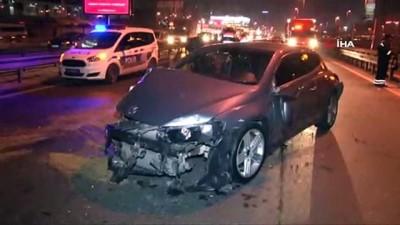 aydinlatma diregi -  E-5'te zincirleme trafik kazası... Kazadan bir saat sonra temizlik işçisi tarafından bulundu