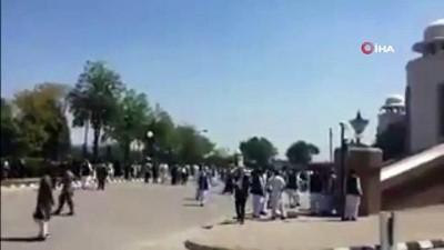 itfaiye araci -  - Pakistan Başbakanlık Binasında Korkutan Yangın