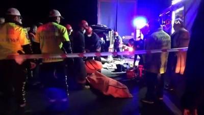 bassagligi -  6 kişinin öldüğü kazada cenazeler morgdan alındı