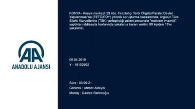 FETÖ'nün 'mahrem imamlarına' operasyon - KONYA