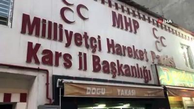 MHP Kars İl Başkanı Adıgüzel'den silahlı saldırıyla ilgili açıklama