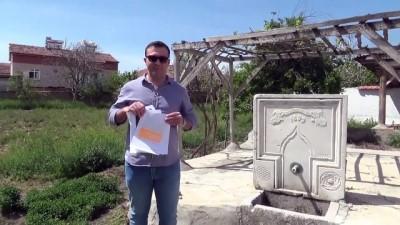 cami imami - Bahçesindeki tarihi çeşmeyi müzeye bağışladı - AMASYA