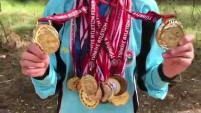 beden egitimi - 14 yaşında 33 tane madalya kazandı
