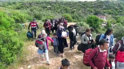 53 düzensiz göçmen yakalandı - ÇANAKKALE