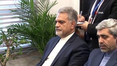 Dışişleri Komisyonu Başkanı Volkan Bozkır, İran'ın Ankara Büyükelçisi Mohammad Farazmand ile görüştü