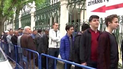 cami bahcesi - Hırka-i Şerif ziyarete açıldı - İSTANBUL