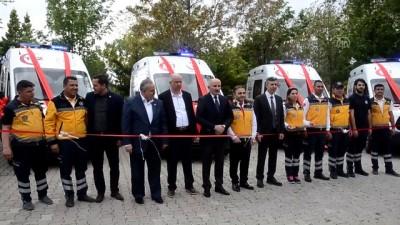 Karaman'da yeni ambulanslar hizmete girdi