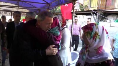 Milli Savunma Bakanı Akar, şehit ailesini ziyaret etti - HATAY