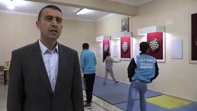 beden egitimi - Okulun sığınağında şampiyonlar yetişti - GAZİANTEP