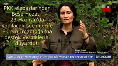 Ekrem İmamoğlu - PKK elebaşından CHP'ye destek
