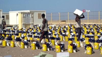 multeci kampi -  - Türkiye Diyanet Vakfından Cibuti'deki Yemenli Mültecilere Ramazan Yardımı
