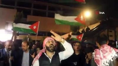 politika -  Ürdün'de hükümet karşıtı protesto