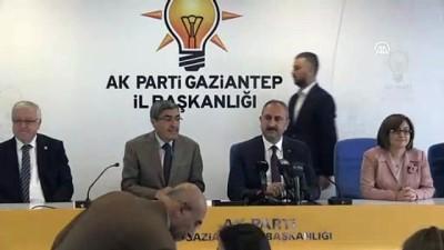 politika - Adalet Bakanı Gül: 'Cumhur ittifakı, vatandaşlarımızın özgürlüğünü, hukukunu, ekonomisini güçlendirici politikalarla devam edecektir' - GAZİANTEP