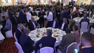 yerel secimler -  Bakan Gül, iftarda AK Parti'lilerle bir araya geldi