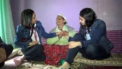 gorme engelli - Evine hırsız giren görme engelli kadına üniversitelilerden yardım - TEKİRDAĞ