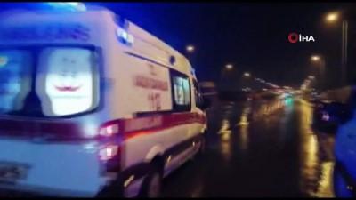 isci servisi -  İşçi servisi devrildi: 19 yaralı