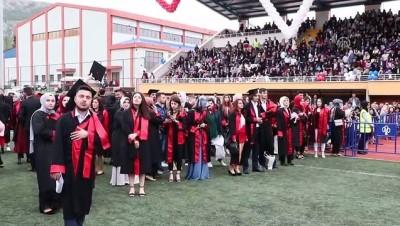 Tokat Gaziosmanpaşa Üniversitesinde mezuniyet heyecanı