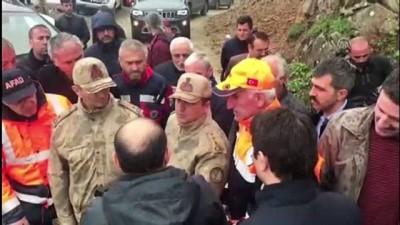 AA muhabirini arama çalışmaları sürüyor - Trabzon Valisi Ustaoğlu - BAYBURT