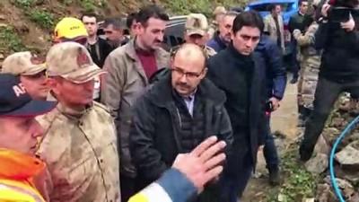 AA muhabirini arama çalışmaları - Trabzon Valisi Ustaoğlu (2) - BAYBURT