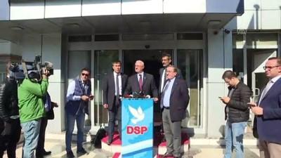 yerel secimler - DSP İstanbul'da aday çıkarmama kararı aldı - Muammer Aydın - ANKARA