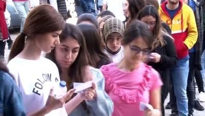 """""""Gerçek Mekan Gerçek Sınav"""" deneme sınavında kendilerini test etme şansı yakaladılar"""