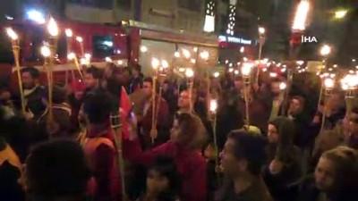Karaman'da 'Türkçe aşkı vatan aşkı' yürüyüşü düzenlendi