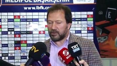 kulup baskani - Medipol Başakşehir-MKE Ankaragücü maçının ardından - Mehmet Yiğiner - İSTANBUL