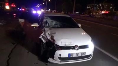 Otomobilin çarptığı üniversite öğrencisi öldü - AKSARAY