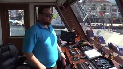Yaşlı kadının hayatını kurtaran gemi kaptanı o anları anlattı
