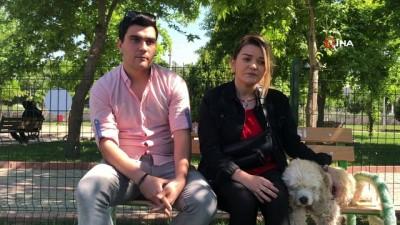 Akhisar'da köpeklerin de artık bir parkı var
