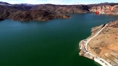 doluluk orani -  Konya'da KOP'un kilit barajı doldu