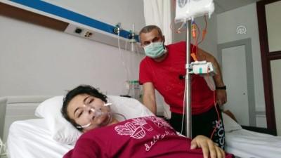 kan bagisi - Lösemi hastası baba ve kızdan kan bağışı çağrısı - AYDIN