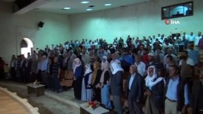 Nusaybin'de terör mağdurları için yapılan konutların kurası çekildi