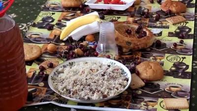 TİKA Kırgızistan'da bin 500 kişilik iftar sofrası kurdu - BİŞKEK