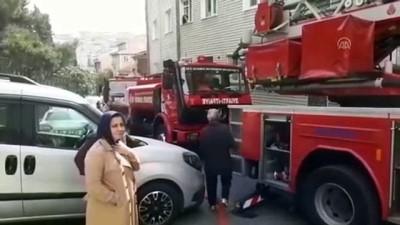 yangina mudahale - Beyoğlu'nda yangın - İSTANBUL
