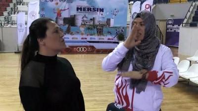 isaret dili - İşitme engelli tekvandocunun hedefi 3. olimpiyat şampiyonluğu - MERSİN